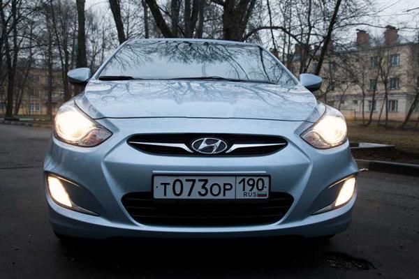 Анти тест драйв автомобиля Хендай Солярис