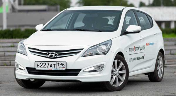 Новый кузов Hyundai Solaris фото