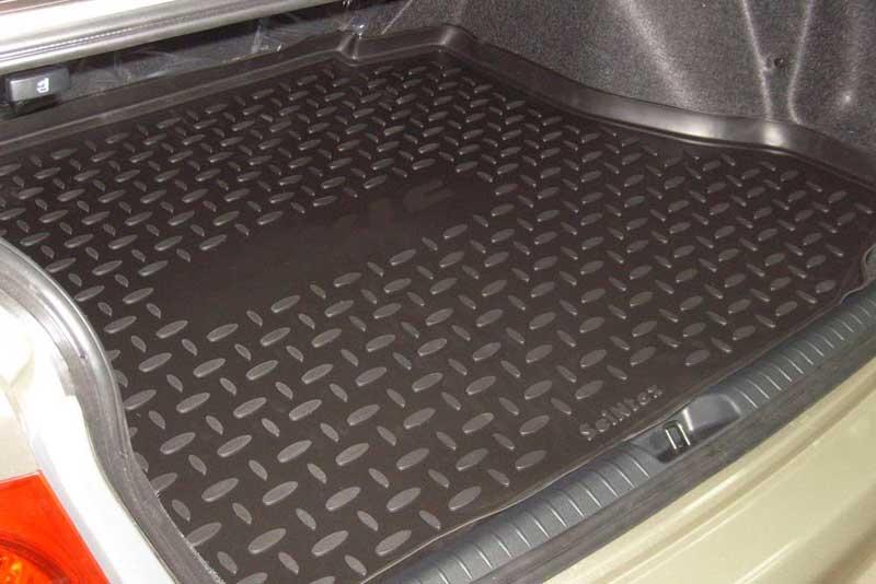 Коврик в багажнике Хендай Солярис