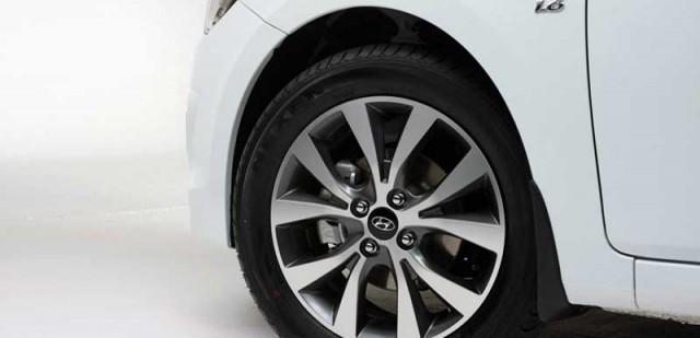 Размер колес Хендай Солярис в зависимости от года выпуска