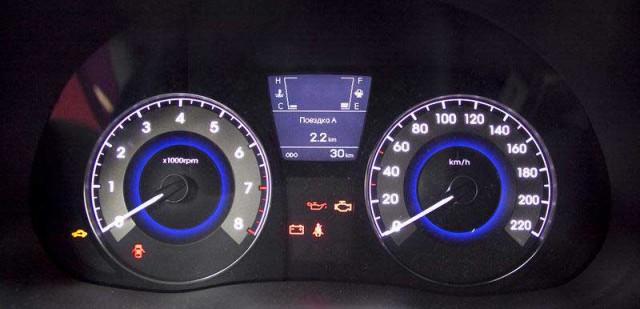 Новая приборная панель Supervision для Hyundai Solaris