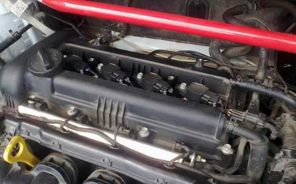Установка свечей в двигатель Хендай Солярис