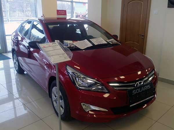 Продажи автомобилей Хендай достигли миллиона