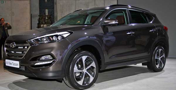 Представлен абсолютно новый кроссовер Hyundai Tucson