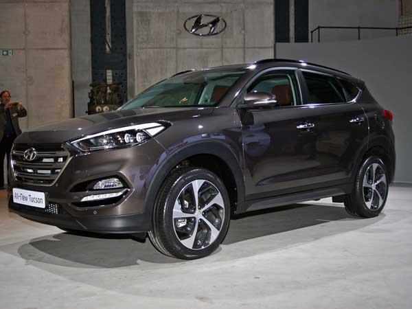 Новый Hyundai Tucson 2015