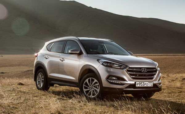 Новинка компании — Hyundai Tucson