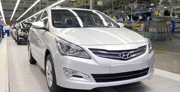 Компания Hyundai увеличила цены на Солярис и некоторые другие модели