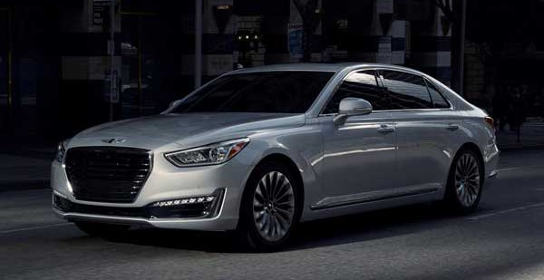 Hyundai запускает новый суббренд под названием Genesis