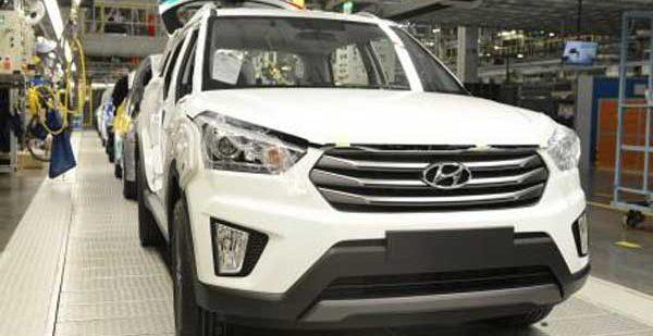 Подходит к концу тестирование производства Hyundai Creta