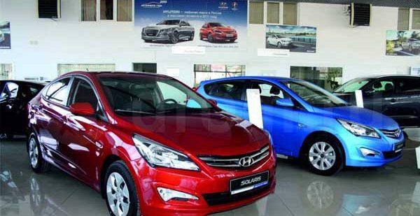 Результат продаж автомобилей Hyundai за август