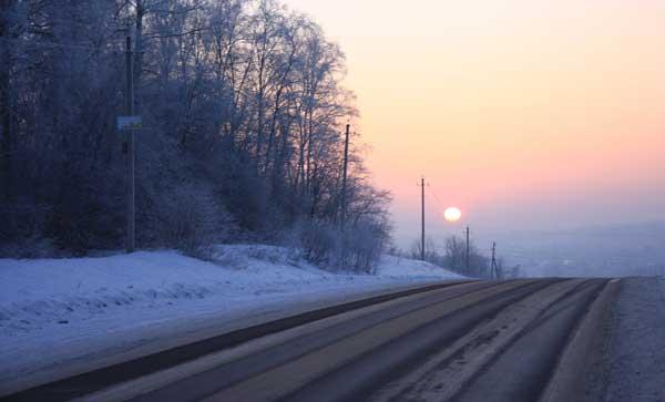 Зимняя резина - залог безопасности на дорогах