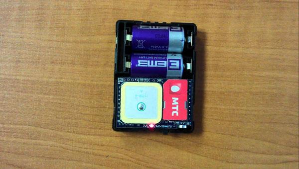 GPS маячок с автономным питанием