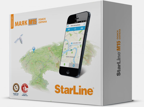 GPS маячок Starline