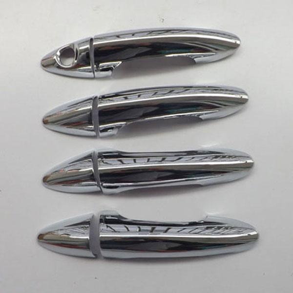 Накладки на дверные ручки Hyundai Solaris