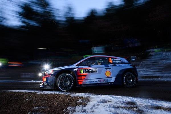 Hyundai i20 Coupe WRC на испытаниях