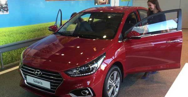 Технические характеристики второго поколения Hyundai Solaris 2017