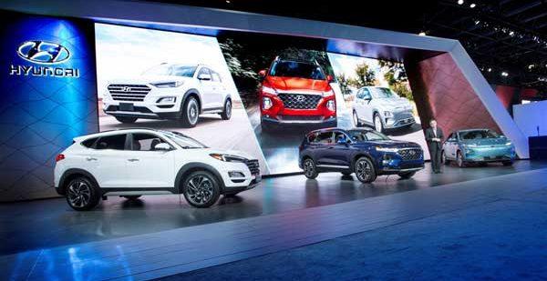 Новинки Hyundai Motor на международном автосалоне Нью-Йорка 2018